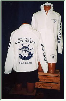Old Salty Hooded Jacket
