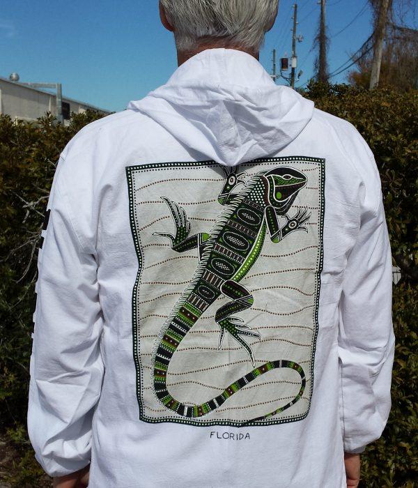 iguana back